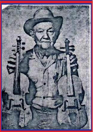 My great uncle blacksmith/luthier Willie Seiler