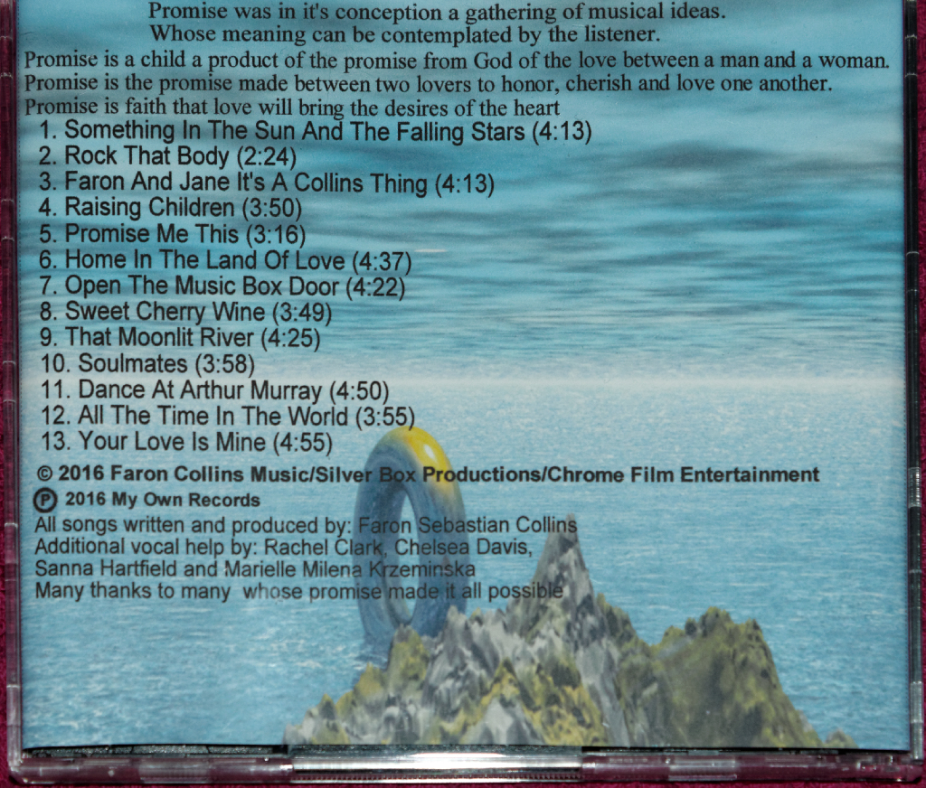 Promise Cd Backcover